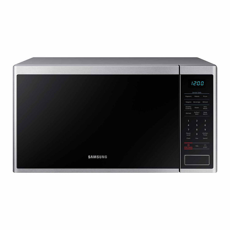 Samsung 1.4 Cu Ft Counter Microwave - Ms14K6000As/Aa - Counter Microwaves - Stainless Steel - Stainless Steel