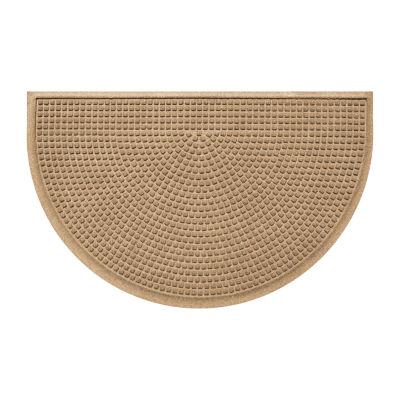 Squares Half Round Mat