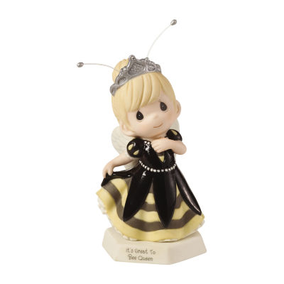 """Precious Moments  """"It's Great To Bee Queen""""Bisque Porcelain Figurine  #153016"""