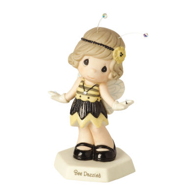 "Precious Moments  ""Bee Dazzled"" Bisque Porcelain Figurine  #153019"