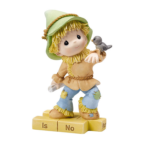 "Precious Moments  ""The Wonderful World of Oz""Scarecrow  Resin Figurine  #154459"