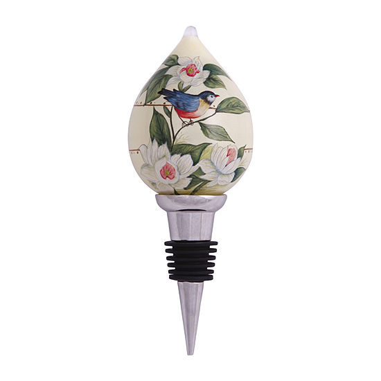 """Ne'Qwa Art  """"Blessed From Above""""  Artist Susan Winget  Wine Stopper  #7124403"""