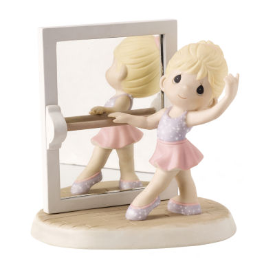 """Precious Moments  """"True Beauty Is Reflected FromThe Heart""""  Bisque Porcelain Figurine  #152020"""