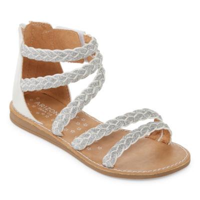 Arizona Danish Girls Gladiator Sandals - Little Kids/Big Kids