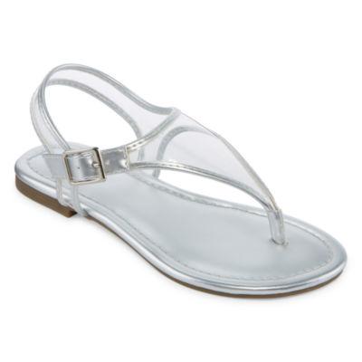 Arizona Breeze Girls Flat Sandals - Little Kids/Big Kids