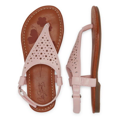 City Streets Gala Girls Strap Sandals - Little Kids/Big Kids