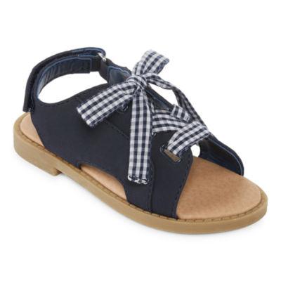 Okie Dokie Lil Cookie Girls Slide Sandals - Toddler