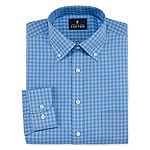 Stafford Mens Travel Easy-Care Broadcloth Stretch Dress Shirt