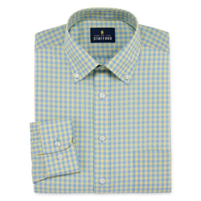Stafford Southeast Strategy Long Sleeve Broadcloth Dress Shirt
