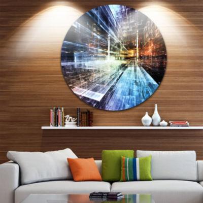 Design Art Future Industry Abstract Metal Artwork