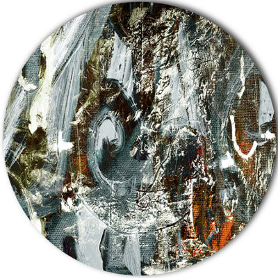 Design Art Contemporary Abstract Design Abstract Circle Metal Wall Art