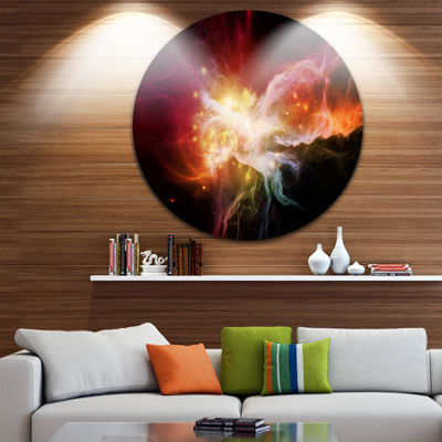 Design Art Elegance of Nebulae Abstract Metal Artwork