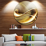 Design Art Elegant Sofa Disc Large Abstract CircleMetal Wall Art