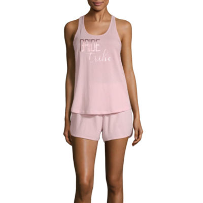 Ambrielle Women's Bride & Bridal Party Tank & Short Set