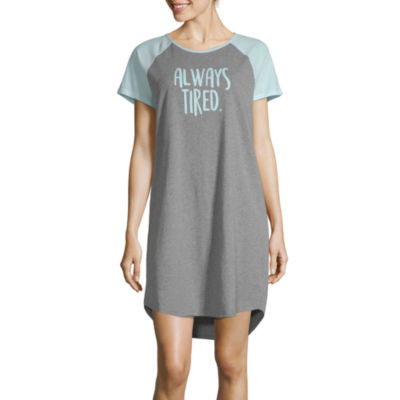City Streets Womens Nightshirt Short Sleeve Mommy and Me