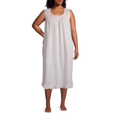 Adonna Womens Sleeveless Nightgown