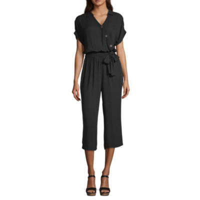 a.n.a Short Sleeve Jumpsuit
