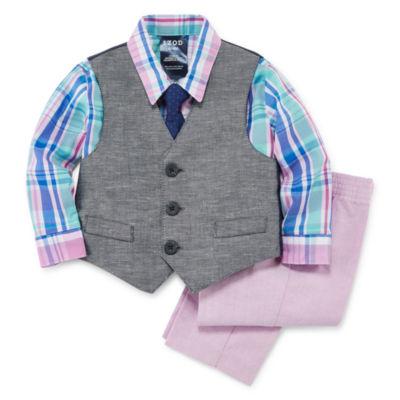 IZOD 4-pc. Suit Set Baby Boys