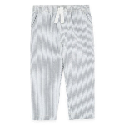 Peyton & Parker Girls Straight Pull-On Pants - Baby