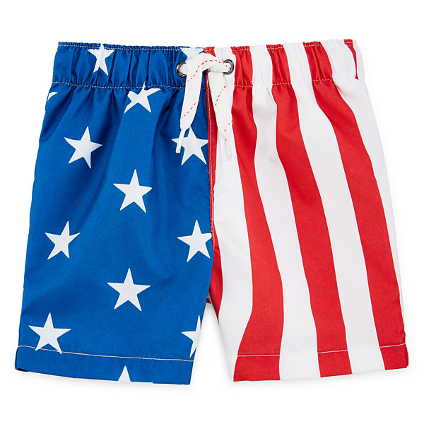 City Streets Boys Swim Trunks-Baby