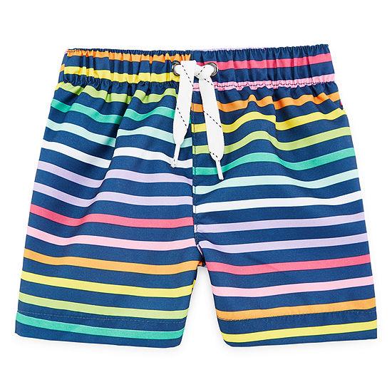 City Streets Boys Swim Trunks-Baby