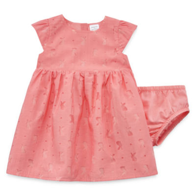 Peyton & Parker Short Sleeve Cap Sleeve Babydoll Dress Girls