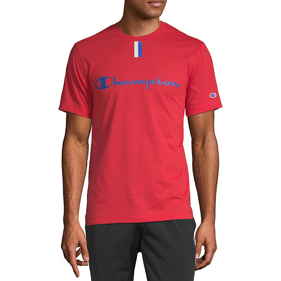 5c375de3d2d6 Champion Mens Crew Neck Short Sleeve Moisture Wicking T-Shirt - JCPenney