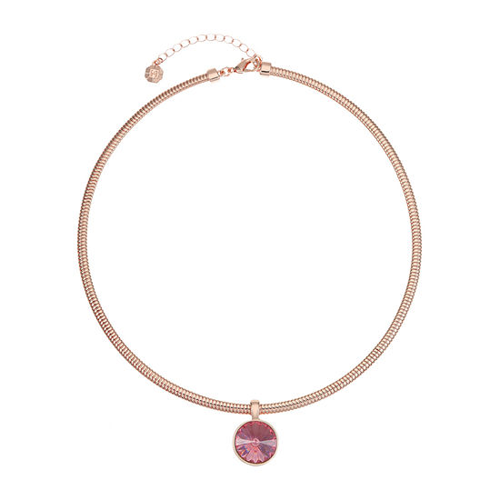 Monet Jewelry 18 Inch Omega Pendant Necklace