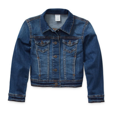 Arizona Little Kid / Big Kid Girls Denim Jacket