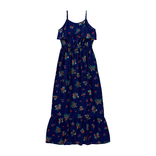 Peyton & Parker - Little Kid / Big Kid Girls Sleeveless Floral Maxi Dress