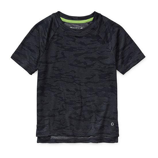 Xersion Boys Crew Neck Short Sleeve Moisture Wicking T-Shirt Preschool / Big Kid