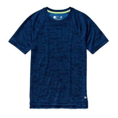 Xersion Little Kid / Big Kid Boys Short Sleeve Moisture Wicking T-Shirt