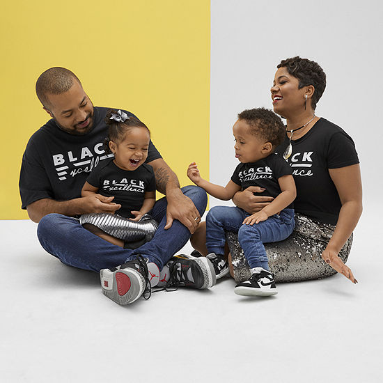 Black History Month Matching Family Graphic Tees