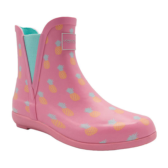 London Fog Womens Piccadilly Waterproof Rain Boots