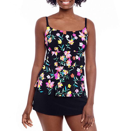 St. John's Bay Floral Swim Dress