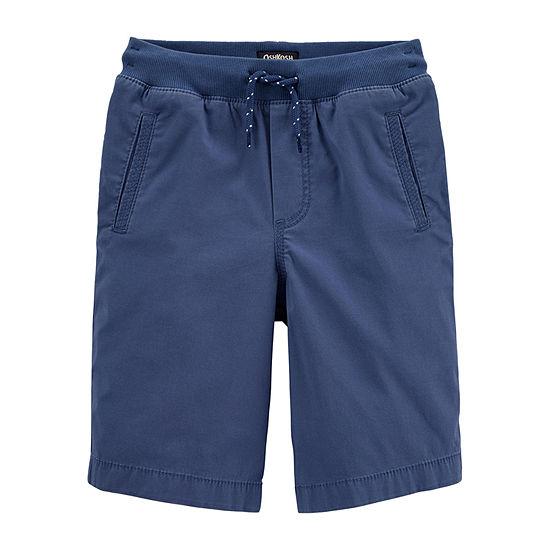 Oshkosh Little Kid Boys Mid Rise Pull-On Short