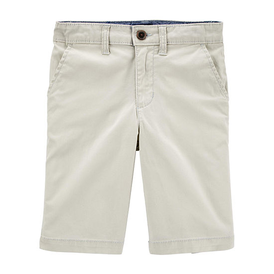 Oshkosh Little Boys Mid Rise Bermuda Short