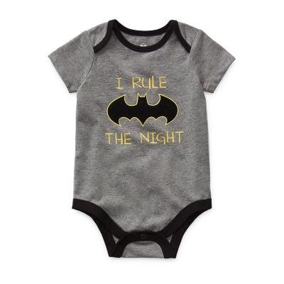 Okie Dokie Boys Batman Bodysuit-Baby