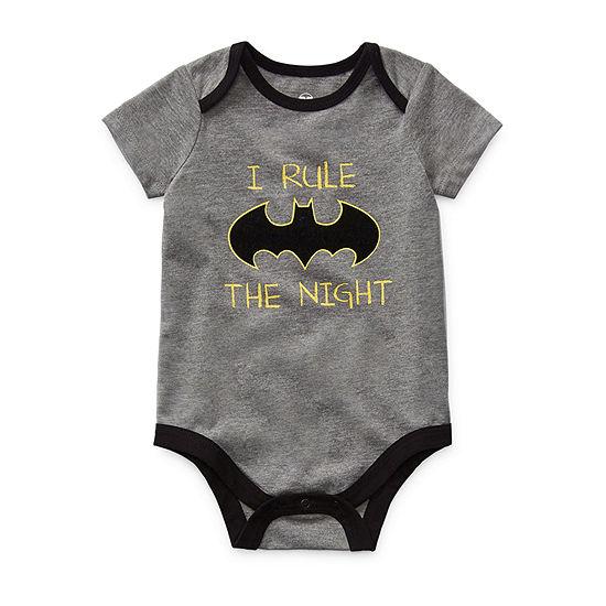 Okie Dokie Baby Boys Batman Bodysuit