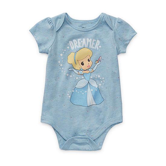 Okie Dokie Girls Cinderella Bodysuit-Baby