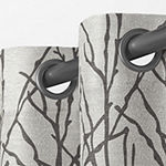 Exclusive Home Curtains Branches Light-Filtering Grommet-Top Set of 2 Curtain Panel