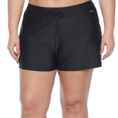 Zeroxposur Womens Swim Shorts Plus