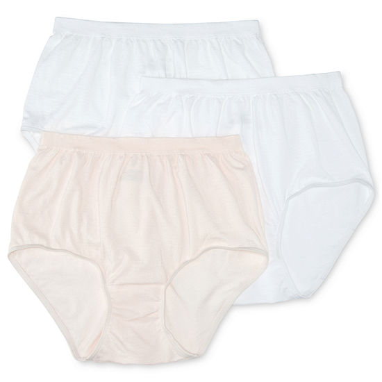 details for replicas half off Jockey® Comfies® Cotton 3-pk. Brief Panties - 3348