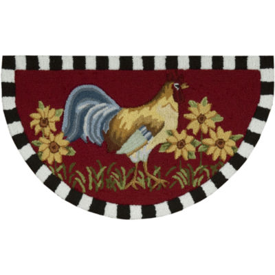 Nourison® Rooster Washable Wedge Rug