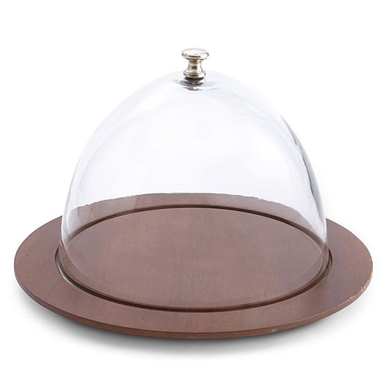 JCPenney Home™ Casual Wood Cheese Dome