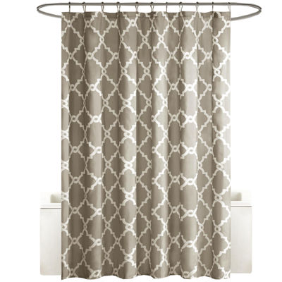 Madison Park Essentials Diablo Printed Shower Curtain