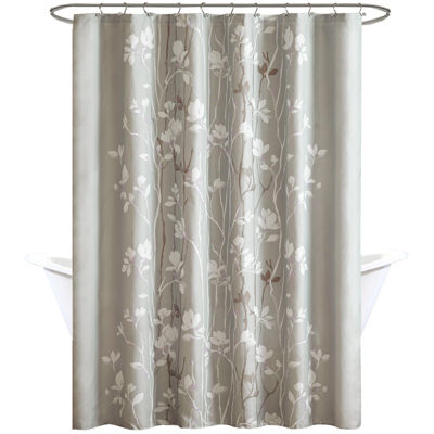 Madison Park Essentials Fulton Printed Shower Curtain