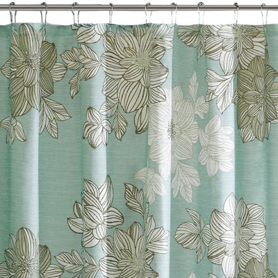 Madison Park Essentials Brady Printed Shower Curtain