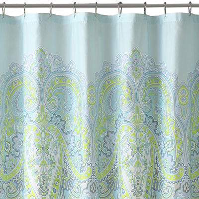 Madison Park Essentials Carly Printed Shower Curtain