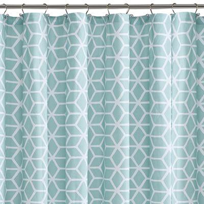 Madison Park Pure Camila Cotton Shower Curtain